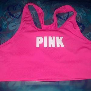VS Pink Sports Bra Size Large